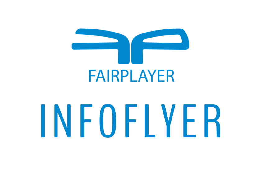 Fairplayer Infoflyer